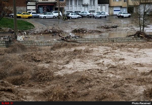 سد گاوشان کردستان امشب سرریز شد