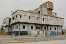 کتابخانه مرکزی کرمانشاه با 50 درصد پیشرفت درحال اجراست