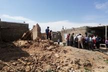 نجات جوان ۱۷ ساله از زیر آوار خانه مسکونی توسط هلالاحمر قوچان