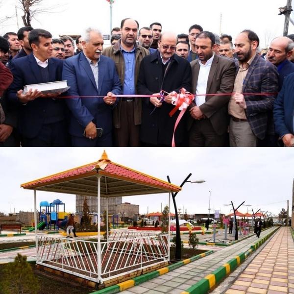 افتتاح پروژههای عمرانی و آموزشی در شهرستان بوئینزهرا