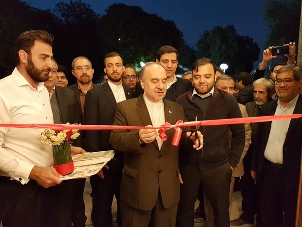 هتل ورزش اهواز با حضور وزیر ورزش بازگشایی شد