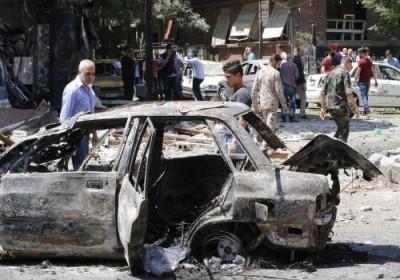 پیام های آخرین انفجار تروریستی دمشق