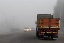 برخی از جاده های خراسان رضوی مه آلود است