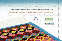 اولین شرکت خلاق استان اردبیل ثبت و معرفی شد