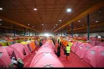 اسکان بیش از 15 هزار سیل زده در چادرهای هلال احمر گلستان