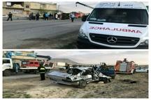 15 کشته و زخمی بر اثر تصادف در محور شهرکرد-طاقانک