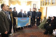 دیدار جهادگران جهاددانشگاهی اردبیل با خانواده شهید ورزشکار اسماعیل اعلمی