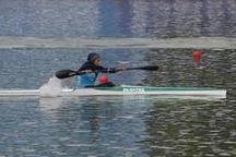 بانوان قایقران گیلانی با درخشش مسابقات کشوری را آغاز کردند