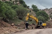 ارتباط جاده ای 11 روستا با مرکز شهرستان اردل وصل شد