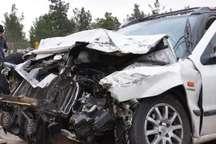 تصادف در جاده اندیمشک - دهلران هفت مجروم بر جای گذاشت