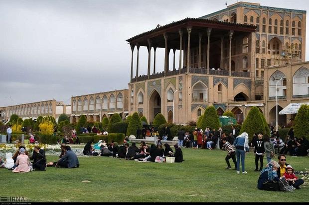 اصفهان، بهشتی زمینی برای تفرج