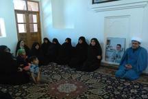 بانوان ادارات گلپایگان از بیت قدیمی امام راحل در خمین دیدن کردند