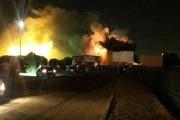 شهربازی سینما پنج بعدی اهواز دچار آتش سوزی شد