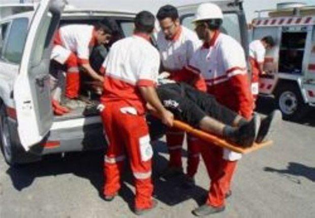 تصادف زنجیره ای درآزادراه کرج - قزوین 7 مصدوم برجای گذاشت