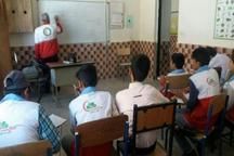 150 کانون دانش آموزی هلال احمر در مدارس کردستان فعال است
