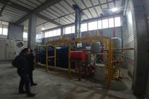افتتاح نیروگاه گاز سوز 2 مگاواتی در شهرک صنعتی مایان