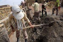 گروه های جهادی بسیج سازندگی ۵۰ خانه محروم در مراغه می سازند