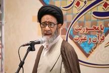 امام جمعه تبریز: القای سقوط نظام از توطئه های دشمنان است