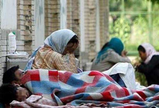 معتادان کارتن خواب شیراز، از گرمخانه روی گردان هستند