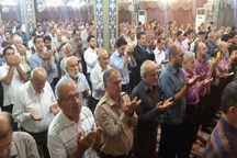 نماز عید فطر در 14 مصلای نماز جمعه البرز برگزار می شود