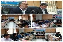 تاکید نماینده خاتم بر همکاری مدیران استان برای جذب اعتبارات ملی