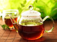 در تابستان چای بنوشید