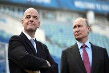 اینفانتینو: روسیه کاملا برای میزبانی جام جهانی آماده است