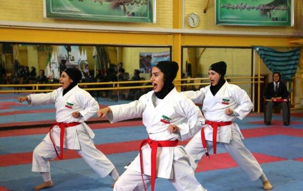 بانوان کاراته کای کرمانی 12 مدال طلا کسب کردند