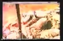 صحنه شهادت شهید مهدی باکری و یارانش در عملیات بدر (سال ۶۳)