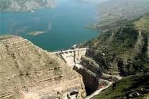 سرریز شدن سد مخزنی گاوشان کردستان