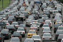 ترافیک در آزادراه های قزوین سنگین است