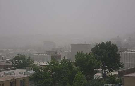 گرد و غبار هوای کهگیلویه و بویراحمد را فرا میگیرد