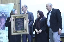 نکوداشت استاد دکتر عبدالوهاب البرزی به پاس خدمات پزشکی اش