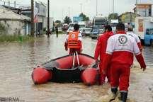 20 خانوار گرفتار در سیل سرابله به مناطق امن منتقل شدند