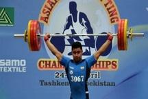 کسب نشان برنز وزنه بردار آبادانی در مسابقات جهانی