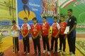 مسابقات کشوری وزنه برداری نونهالان در بانه پایان یافت