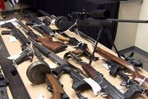 کشف محموله سلاحهای جنگی در نیکشهر