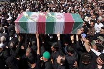پیکر شهید دوران دفاع مقدس در زاهدان تشییع و خاکسپاری شد