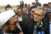 نایب رییس مجلس شورای اسلامی از کانال تامین حق آبه تالاب شادگان دیدن کرد