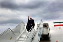 رئیس جمهوری عسلویه را به مقصد تهران ترک کرد