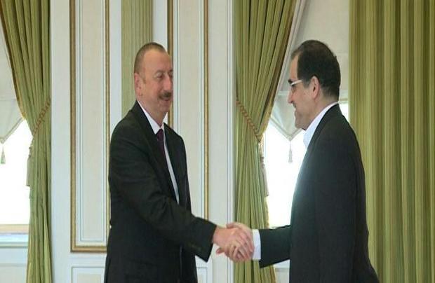 دیدار وزیر بهداشت با رئیس جمهوری آذربایجان