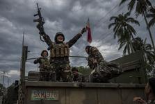 خرابه ای که داعش تحویل فیلیپینی ها داد+ تصاویر