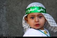 شیرخوارگان حسینی در خوزستان یاد کوچکترین شهید کربلا را گرامی داشتند