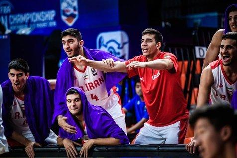 تیم ملی بسکتبال جوانان با شکست مقابل  ژاپن ششم شد