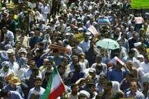 لبیک مردم بندرماهشهر به فریاد های مظلومانه مردم فلسطین