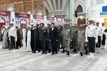 فرماندهان پدافند هوایی خاتم الانبیا(ص) با آرمان های امام خمینی(س) تجدید میثاق کردند