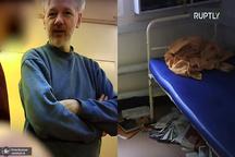 عکس/ نخستین تصاویر از موسس ویکی لیکس در زندان فوق امنیتی