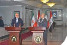 ظریف: کسی حق دخالت در روابط تهران - بغداد را ندارد/ وزیر خارجه عراق: برغم تحریم های یکجانبه آمریکا بر همکاری با ایران تاکید داریم
