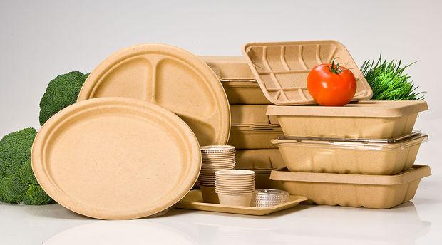 غذای گرم باید در ظروف یکبار مصرف گیاهی توزیع شود