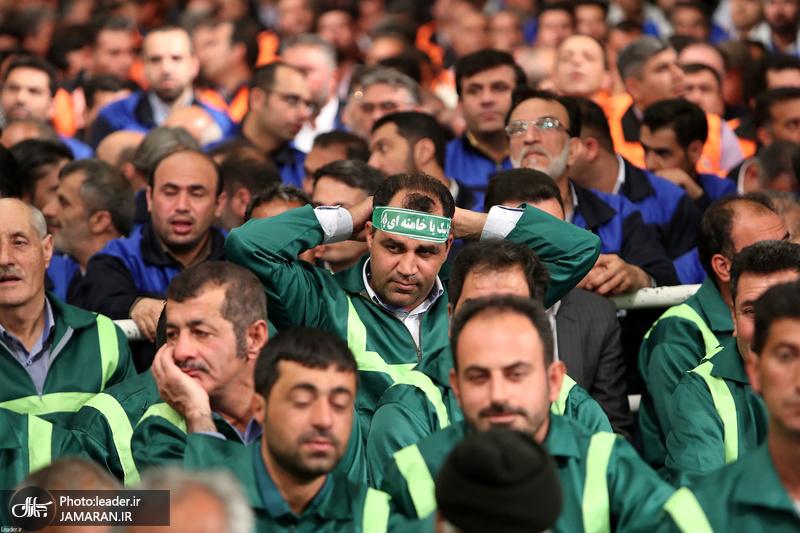 دیدار جمعی از کارگران سراسر کشور با رهبر معظم انقلاب